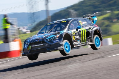 BAKKERUD MAKES RALLYCROSS HISTORY WITH FOCUS RS RX WIN