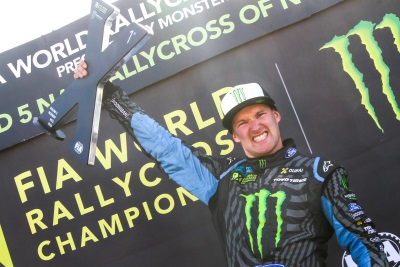 BAKKERUD MAKES WORLD RX HISTORY WITH CLEAN SWEEP AT HOME EVENT