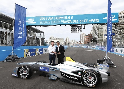 BANK JULIUS BAER BECOMES TITLE SPONSOR OF PUNTA DEL ESTE EPRIX