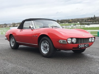 £83,600 Fiat Dino Spider Tops The Charts At Barons, Sandown Park