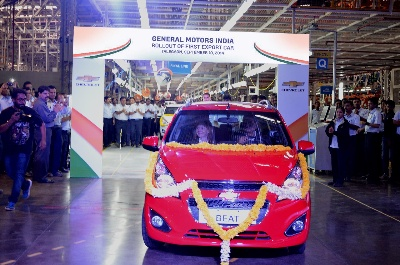BARRA: INDIA AUTO MARKET CREATES OPPORTUNITY FOR CHEVROLET