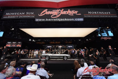Barrett-Jackson Raises $605,000 For Charity With Help From Aaron Shelby, Greg Olsen During Northeast Auction