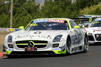 Bathurst 12 Hour Race / Australia: Positions two, three and seven for the SLS AMG GT3 in the Bathurst 12 Hour Race