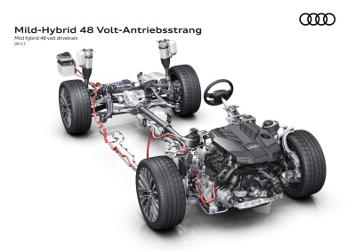 Batteries Required - All-New Audi A8 To Feature Electrified Powertrain As Standard