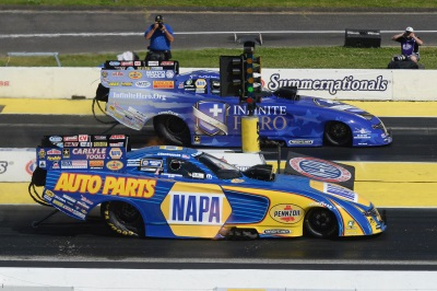 Beckman Continues Mopar Funny Car Hot Streak With Win In Dodge Charger R/T At NHRA Summernationals