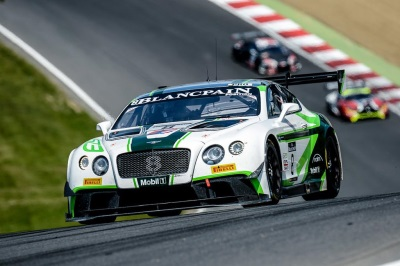 BENTLEY TAKES THIRD PODIUM IN THREE BLANCPAIN GT SERIES EVENTS