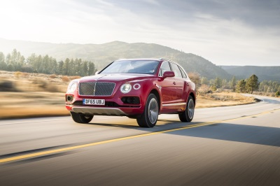 BENTLEY BENTAYGA NAMED 'SUV OF THE YEAR' IN ROBB REPORT BEST OF THE BEST AWARDS