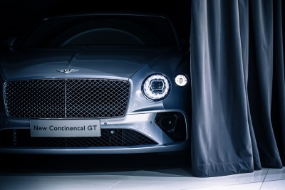 New Bentley Continental GT Debuts In Frankfurt
