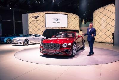 New Bentley Continental GT Debuts In Frankfurt