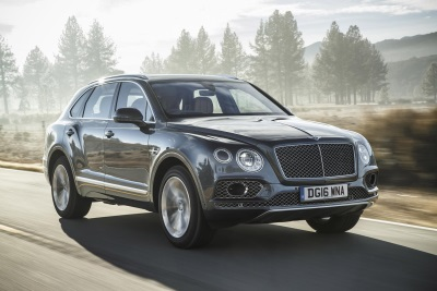 GAINS IN EUROPE AND UK WHILE AMERICAS REMAINS BIGGEST SELLING REGION FOR BENTLEY
