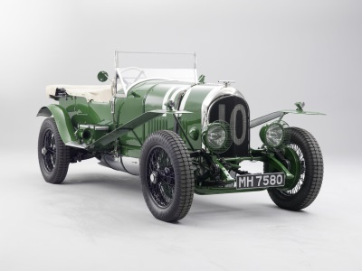 BENTLEY MOTORS FIRST LE MANS CAR TO STAR AT LONDON CLASSIC CAR SHOW