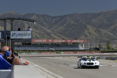 BENTLEY RACES TO FIRST VICTORY IN NORTH AMERICA
