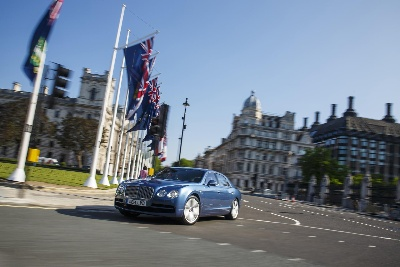 SALES BOOST PUTS BENTLEY ON THE ROAD TO RECORD YEAR