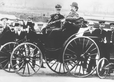 FIRST FEMALE AUTOMOTIVE PIONEER BERTHA BENZ INDUCTED INTO HALL OF FAME