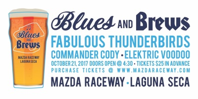 Blues & Brews Debuts October 21 At Mazda Raceway Laguna Seca