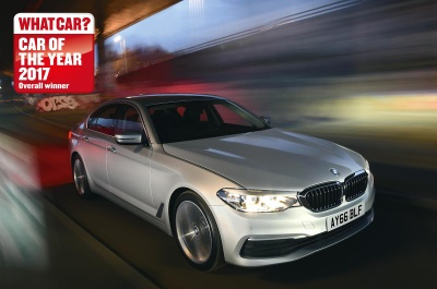 BMW 5 SERIES SALOON CROWNED WHAT CAR? CAR OF THE YEAR 2017