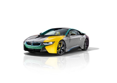 The Exclusive North American Premiere Of The Bmw i8 Memphisstyle At Frieze Art Fair New York