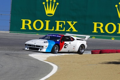 BMW ENTERS THREE FAN FAVORITE RACE CARS AT THE 2015 ROLEX MONTEREY MOTORSPORTS REUNION