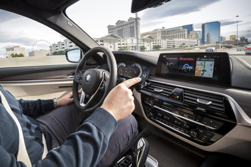 BMW AT THE CONSUMER ELECTRONICS SHOW (CES) 2017 IN LAS VEGAS