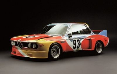 ALEXANDER CALDER'S BMW BATMOBILE ART CAR COMES TO 'THE AMELIA'