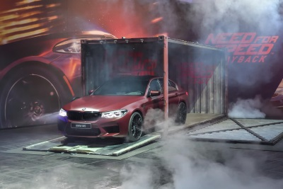BMW And EA Debut The All-New BMW M5 In Need For Speed Payback