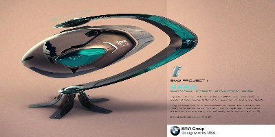 BMW GROUP DESIGNWORKS USA SUBMITS TWO ENTRIES TO 2013 LA AUTO SHOW DESIGN CHALLENGE INSPIRED BY NATURE