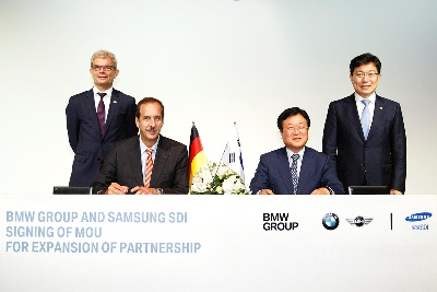 BMW GROUP AND SAMSUNG SDI EXPAND PARTNERSHIP