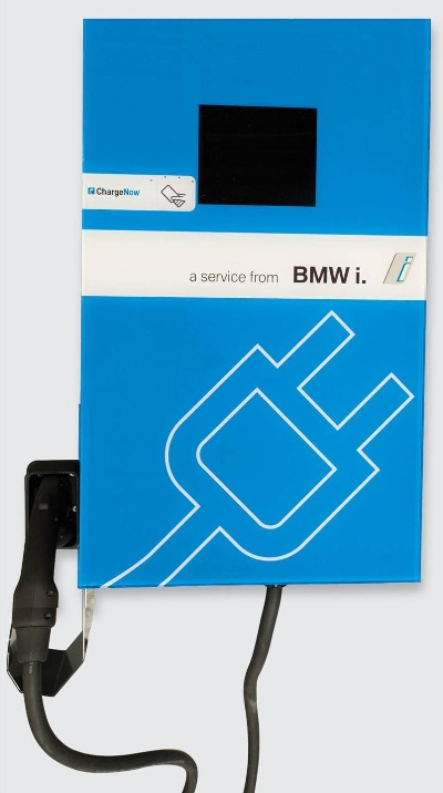 BMW UNVEILS BMW i DC FAST CHARGERS AND CHARGENOW DC FAST PROGRAM AT PLUG-IN 2014