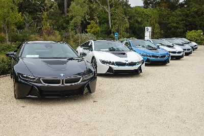 BMW DELIVERS FIRST BMW i8 SPORTS CARS IN THE U.S. AT PEBBLE BEACH CONCOURS d'ELEGANCE