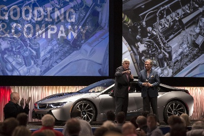 ONE-OF-A-KIND 2014 BMW i8 CONCOURS d'ELEGANCE EDITION SOLD FOR WORLD AUCTION RECORD PRICE OF $825,000