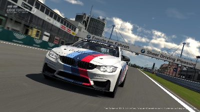 BMW M4 SAFETY CAR LAUNCHED FOR PLAYSTATION'S GRAN TURISMO®6