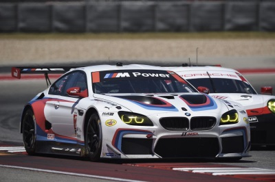 Double M6 GTLM Podium Finish For BMW Team RLL At COTA; Auberlen/Sims P2, Edwards/Tomczyk P3