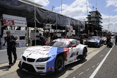 BMW TEAM RLL QUALIFIES 2ND AND 5TH FOR BRICKYARD GRAND PRIX; EDWARDS 2ND, AUBERLEN 5TH