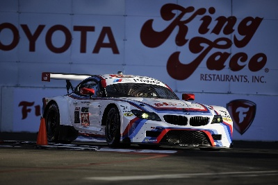 BMW TEAM RLL CLAIMS GTLM CLASS FRONT ROW AT LONG BEACH; AUBERLEN ON POLE, EDWARDS P2 FOR SPORTS CAR SHOWCASE