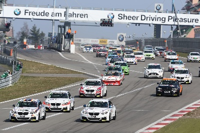 Podium for BMW Sports Trophy Team Schubert as season gets underway on the Nordschleife.
