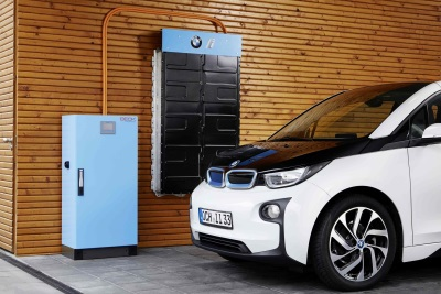 BATTERY STORAGE SYSTEM ELECTRIFIED BY BMW i ANNOUNCED AT EVS29 IN MONTREAL
