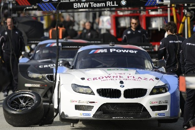BMW TEAM RLL QUALIFIES 5TH AND 8TH FOR ALMS MONTEREY