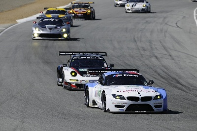 BMW TEAM RLL FINISHES THIRD AT ALMS MONTEREY; MÜLLER TAKES GT DRIVER POINTS LEAD