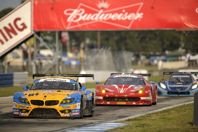 BMW TEAM RLL MISSES OUT ON PODIUM IN SEBRING – BMW Z4 GTLMS FINISH FOURTH AND EIGHTH AT 63RD TWELVE HOURS OF SEBRING