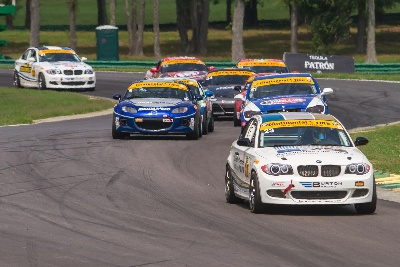 BMW DRIVERS PODIUM AT VIRGINIA INTERNATIONAL RACEWAY