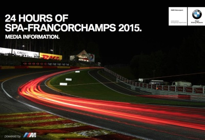 LAST 24H APPEARANCE FOR THE BMW Z4 GT3, THE 'DREAM TEAM', AND AN ANNIVERSARY: STRONG BMW CONTINGENT FOR THE SPA 24 HOURS