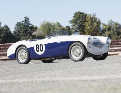 AUSTIN-HEALEY 100S, IN SAME OWNERSHIP FOR 50 YEARS, JOINS BONHAMS SCOTTSDALE AUCTION