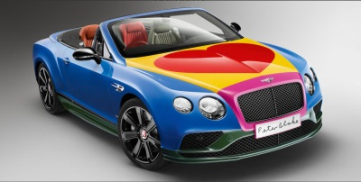 Sir Peter Blake Pop Art Bentley To Be Auctioned For Charity At Bonhams Festival Of Speed Sale