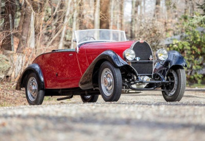 Exquisite Bugatti Type 49 Roadster Leads Early Entries For Bonhams' Greenwich Auction