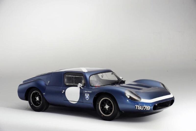 1962-63 Tojeiro EE-Buick Endurance Racing Coupe