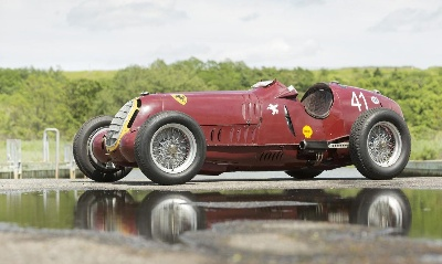 Bonhams sell ex-Tazio Nuvolari 1935 Alfa Romeo for world record breaking price of £5.9 million at Goodwood Revival Sale