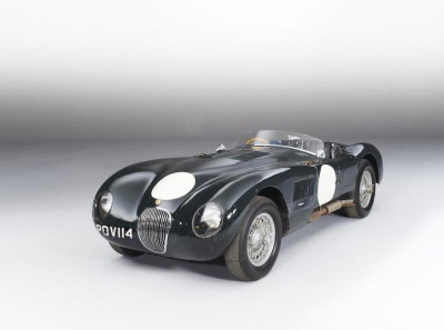 THE WORLD'S FINEST LONG-TERM PRESERVED JAGUAR C-TYPE
