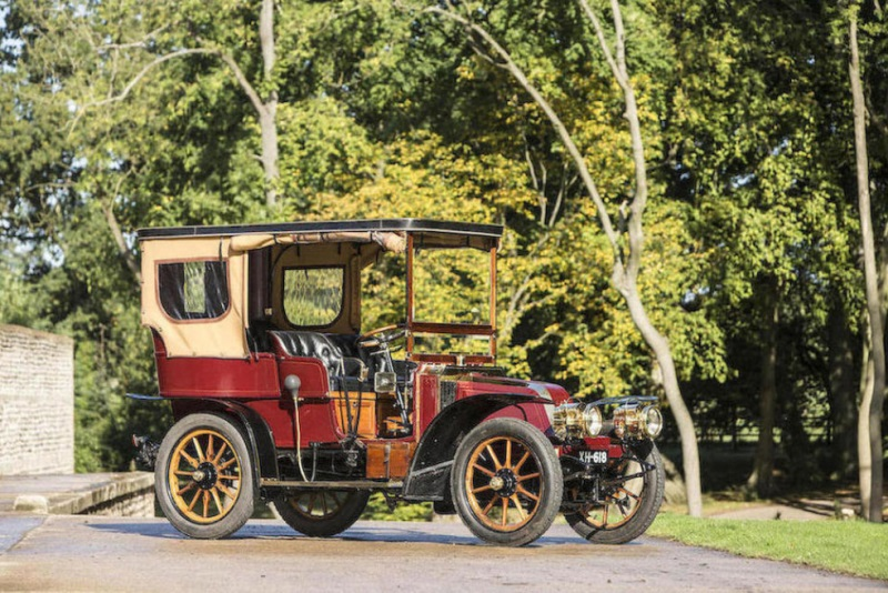 BONHAMS £1.2 MILLION VETERAN CAR SALE TRANSPORTS BOND STREET BACK IN TIME