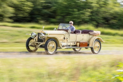 One Of The Most Coveted Rolls-Royces Of All Time The London-To-Edinburgh Silver Ghost - To Headline Bonhams' Auction At Simeone Museum