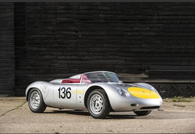 BONHAMS TO OFFER FOR SALE BY AUCTION SIR STIRLING MOSS's 1961 PORSCHE RS-61 SPORTS-RACING CAR